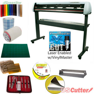 53 Uscutter New Sc2 Vinyl Cutter Bundle Sign Cutting Plotter W vinylmaster Cut