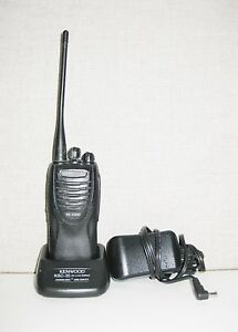 Kenwood Tk 3300 16 Channel Uhf 450 470 Mhz 2w Portable Radio 30 Day Warranty