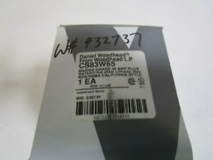 Daniel Woodhead Plug Cs83w65 new In Box