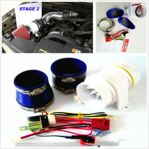 Turbo 5000 3 Inch Car Electronic Turbocharger Electric Turbine Supercharger Kit