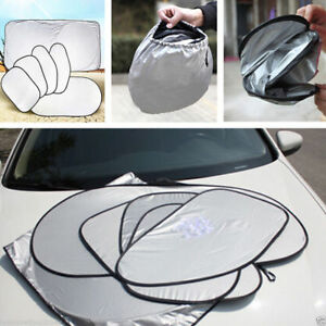 6pcs Set Car Window Sun Shade Foldable Windshield Full Shield Visor Block Cover