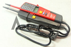 Auto Range Voltage And Continuity Tester With Lcd led Indication Dat Uni t Ut18c