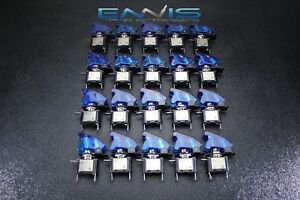 20 Pcs Toggle Switch On Off Blue Mini Led 12v 20 Amp Race Nitrous Eps 3015bl