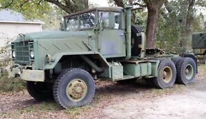 1984 Am General M931 Truck Tractor 5 ton 6x6 18 500 Miles Nice