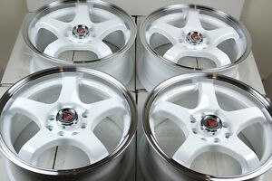 17 Rims Tires Wheels Fit Corolla Accord Civic Tiburon Miata Cobalt 4x100 4x114 3