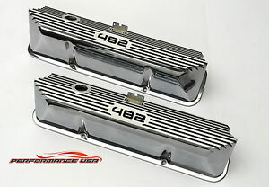 Brand New Ford Fe 482 Deep Laser Engraved Polished Valve Covers
