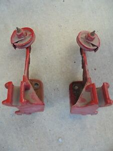 Antique Farmall F20 Cultivator Mounting Brackets W pully