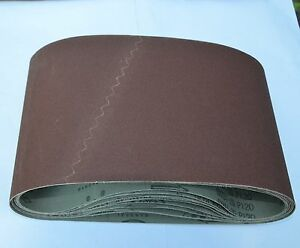 10 New Cloth Floor Sanding Belt 7 7 8 x29 1 2 180 Grit Drum Sander Sandpaper