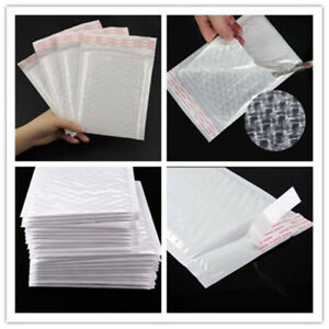 Wholesale Poly Bubble Mailers Shipping Mailing Padded Bags Envelopes Self Seal