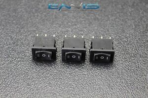 3 Pcs Mini On Off On Momentary Spring Kickback Rocker Switch Toggle Ec 1115pp