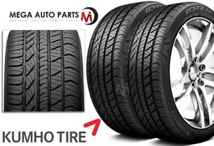 2 X New Kumho Ku22 Ecsta 4x Ii 215 45zr17 91w Ultra High Performance Tires