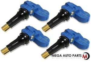 4 X New Itm Tire Pressure Sensor 433mhz Tpms For Mercedes Benz Sl 00 05