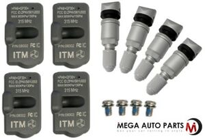 4 X New Itm Tire Pressure Sensor 315mhz Tpms For Mercedes Benz Cls500 06 11