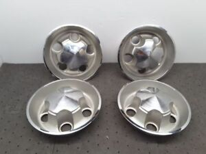 1968 74 Mopar Ralley Cener Oem 4 1 2 Bolt Pattern Wheel Center Cap Set Of 4