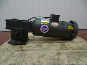 Baldor Vbm3546 Electric Motor 1hp 1725rpm 56c Frame 3ph W winsmith Reducer 40 1