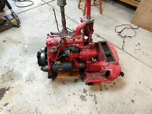 1950 Demonstrator Farmall Cub Tractor Engine C60 Lower Radiator Power Unit