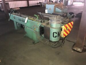 Cmw 4 Hydraulic Tube Bender Model Cmw 300 Nc