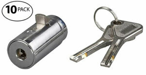 Qty 10 Replacement Security Vending Machine Locks European Style