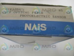 Nais Uzf1201 Optical Fiber Photoelectric Sensor new In Box