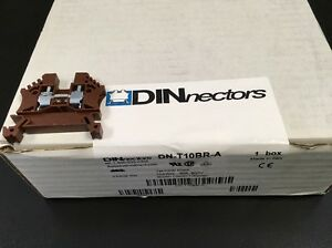 brand New Dn t10br a Automation Brown Direct Terminal Block Box Of 100pcs