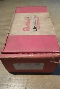 Robertshaw Controls Co Commerical Electric Thermostat Se 5300 109 17js 1047 f31