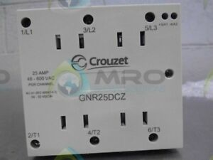 Crouzet Gnr 25dcz Ssr Din Rail Mount 600vac 32vdc 25a new No Box
