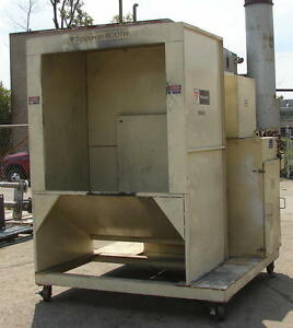 Volstatic Solidspray Portable Paint Booth 48 X 48 used