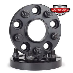 2 Wheel Spacers 5x114 3 Hub Centric 20mm Black Fits Ford Mustang 2015 2019