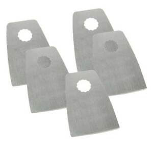 52mm Flat Cut Stainless Steel Scraper Fits Fein Multimaster Rockwell Sonicrafter