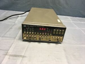 Hp Agilent 8116a 50 Mhz Pulse Function Generator Tested