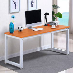 Computer Desk Pc Laptop Table Workstation Study Home Office Furniture mesh Chair