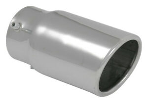 2 25 Inlet X 3 Out X 5 5 Oal Vibrant Bolt On Exhaust Tip Stainless 1503