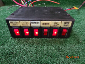 Federal Signal Sw300 012 Series D Light Controller Switch Box A05