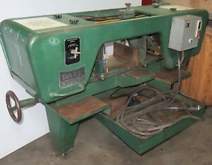 Dake Johnson Horizontal Metal Band Saw Model Jh10 Made In Usa