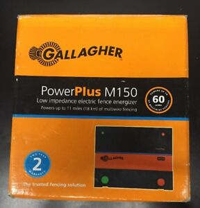 Gallagher Power Plus M150 Low Impedance Electric Fence Energizer