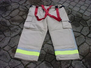 Bristol New Old Stock Turnout Pants Fireman Firefighter Fire Dept 42 5