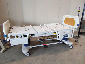 Stryker Secure 3002 Adjustable Hospital Bed In Good Condition Sr343