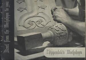 Furniture Trade Catalogue Chippendale S Shoreditch London C1930 S