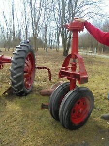 1938 Farmall F20 Tractor Front Pedestal W tires Rims Best Offer