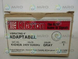 Klaxon K4240a Adaptabel new In Box