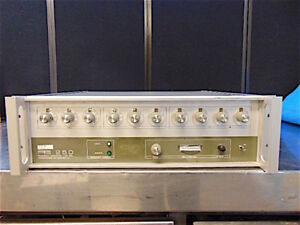 Pts 250 S1n20 Frequency Synthesizer 1 250mhz Unit Powers Up Responds S3166