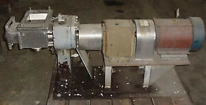 Apv Model 7000 Positive Displacement Pump used