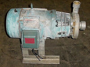Tri flo Centrifugal Washdown Pump 5 Hp Stainless used