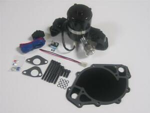 Big Block Ford Electric Water Pump High Volume Black 429 460 W Plate Relay