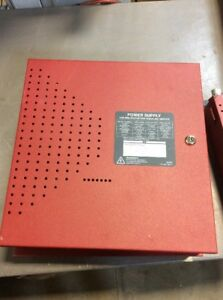 Honeywell Fire lite Notifier Fcps 24s8 Power Supply Panel Enclosure