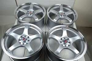 17 Rims Wheels Tires Vigor Xb Mirage Prelude Miata Cl Accord Civic 4x100 4x114 3
