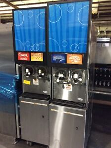 Cornelius Frozen Drink Machine Carbonated Slushie Icee Viper 2 Barrel Fbd