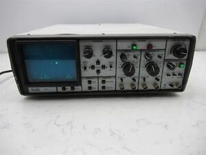 Nicolet 310 Digital Oscilloscope Vintage Laboratory Unit Dual Channel