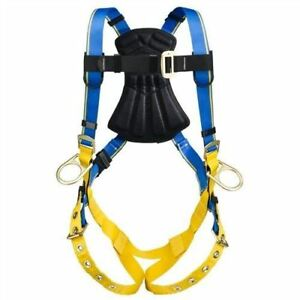 Werner Blue Armor 1000 H232002 3 D Ring Positioning Safety Harness Size M l