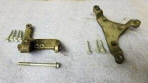 03 04 Supercharged Mustang Cobra Lower And Upper Alternator Mounting Brackets